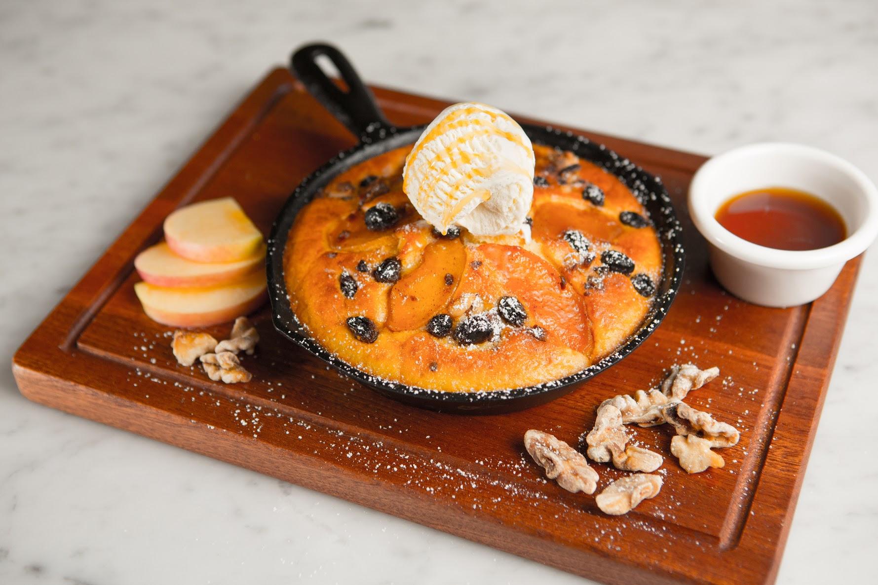 鐵板蘋果香餅