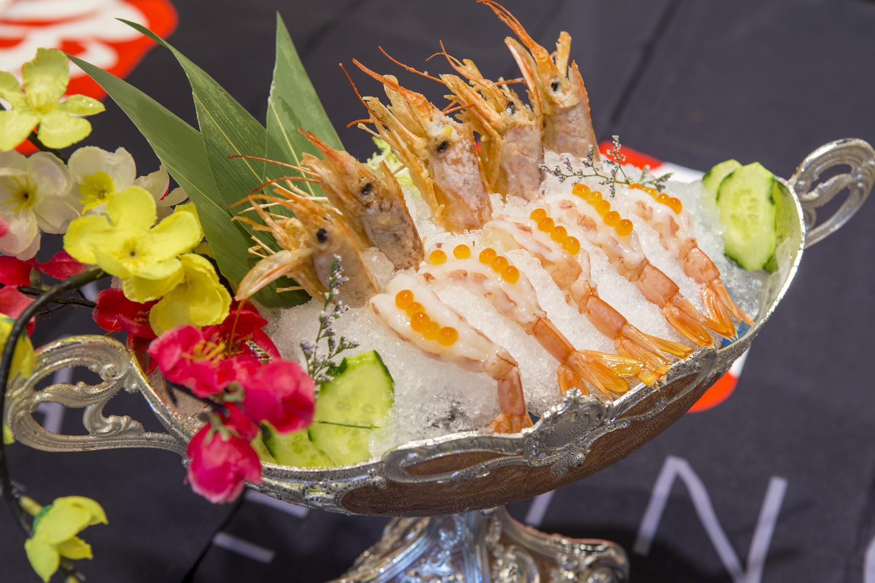 101漁之部屋 阿根廷珍寶牡丹蝦刺身