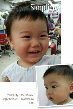 BB剪髮記~ Be a handsome baby ^0^