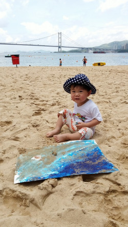 Lido Beach Outdoor Painting♡把教室融入大自然之中@The Moving Artroom